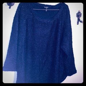 JESSICA SIMPSON plus size ladies over size sweater